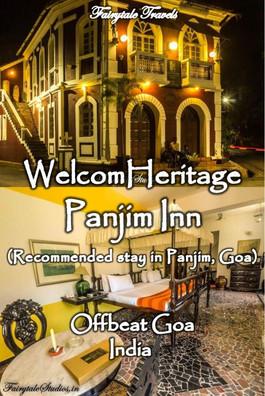 WelcomHeritage Panjim Inn, Goa - India
