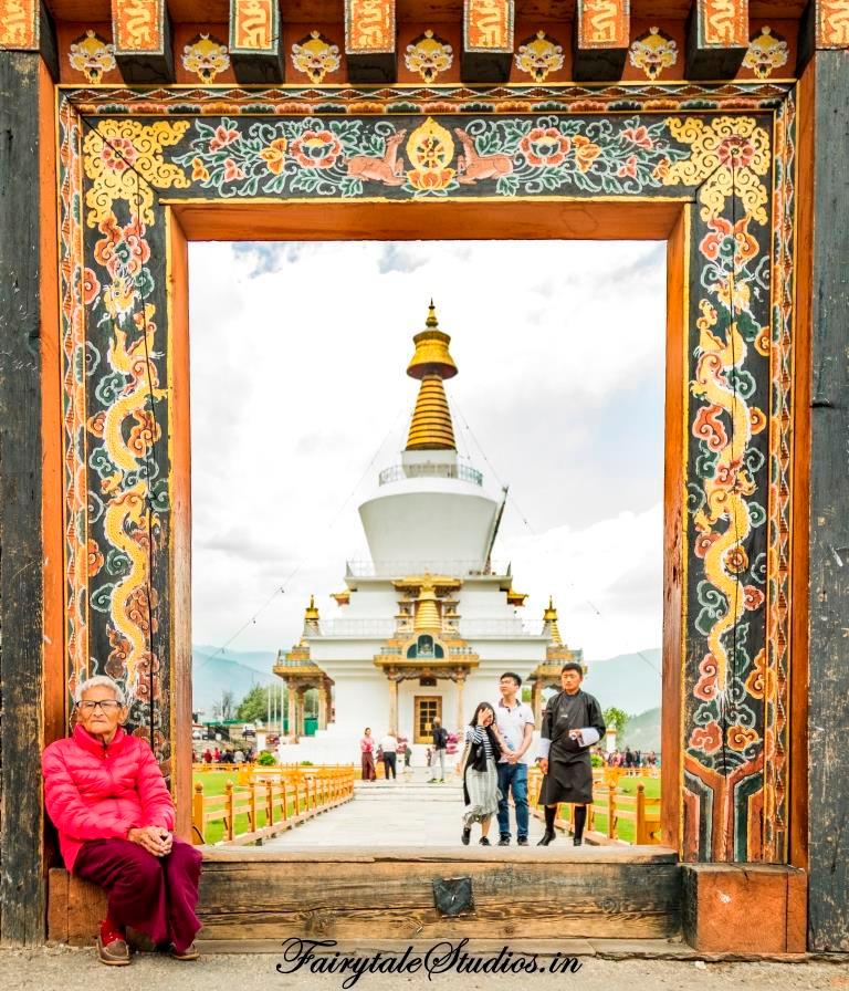 The Memorial chorten, Thimphu, Bhutan