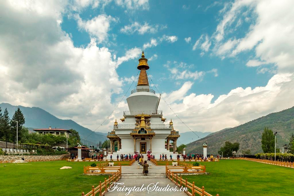 The National Memorial Chorten, Thimphu_The Bhutan Odyssey_Places to visit in Thimphu