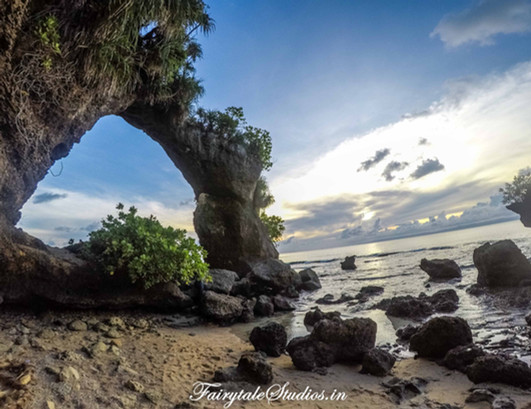Natural Bridge_Neil Island_Andaman Odyssey_Fairytale Travels