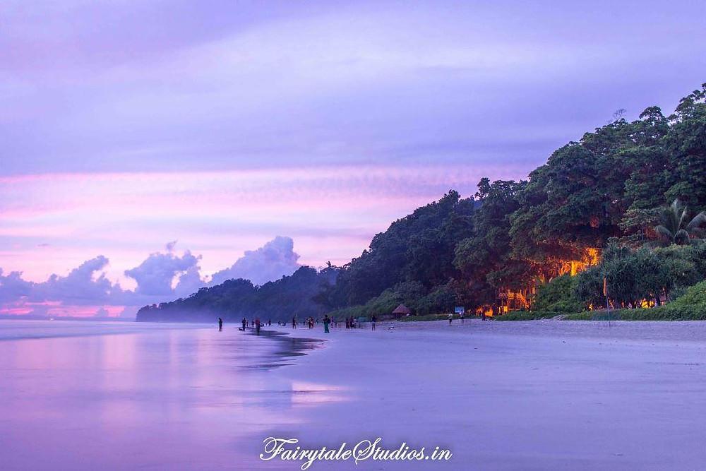 After glow post sunset at Radha Nagar beach, Havelock Island_The Andaman Odyssey_Fairytale Travels