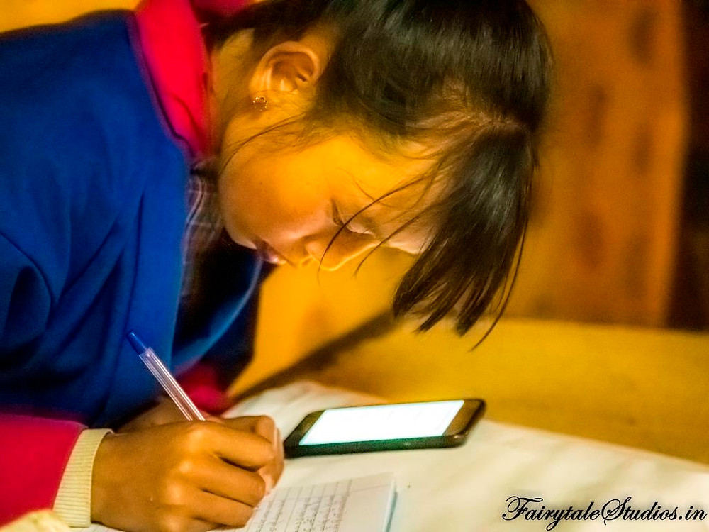 Kids in a school in Phobjikha Valley, Bhutan
