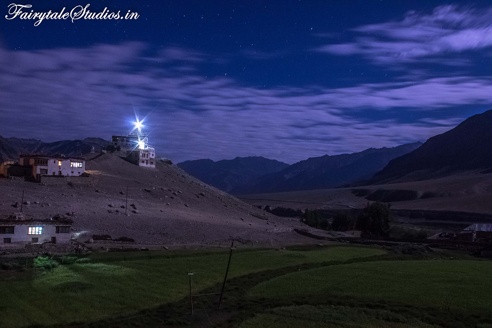 Night photography from our hotel terrace in Padum (The Zanskar Odyssey travelogue)