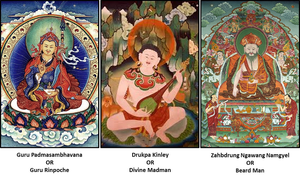 The noted Gurus and Saints of Bhutan who shaped the country's history - The Bhutan Odyssey