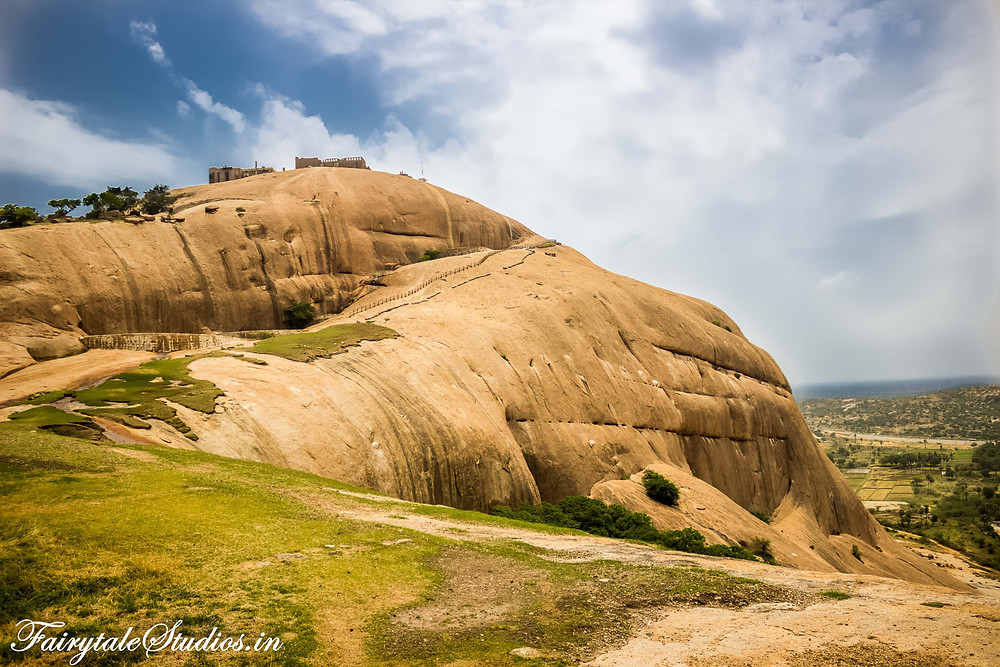 Bhongir Fort - A good day outing spot from Hyderabad in Telengana, India