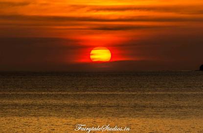 Sunset_Port Blair_The Andaman Odyssey_Fairytale Travels