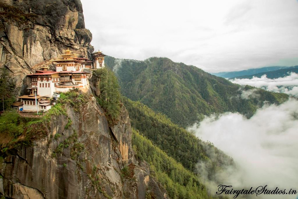 Taktsang Monastery also popularly known as Tigers Nest Monastery - A must visit in Bhutan
