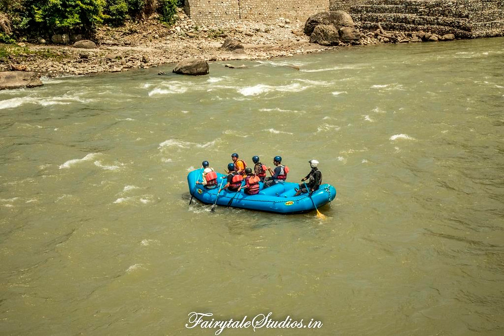 White-water river rafting in Pahalgam, Jammu and Kashmir - India_Adventure sports in India