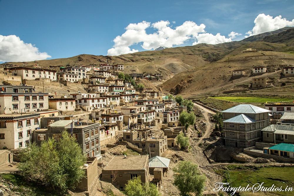 Kibber village, Spiti Valley - Himachal Pradesh, India