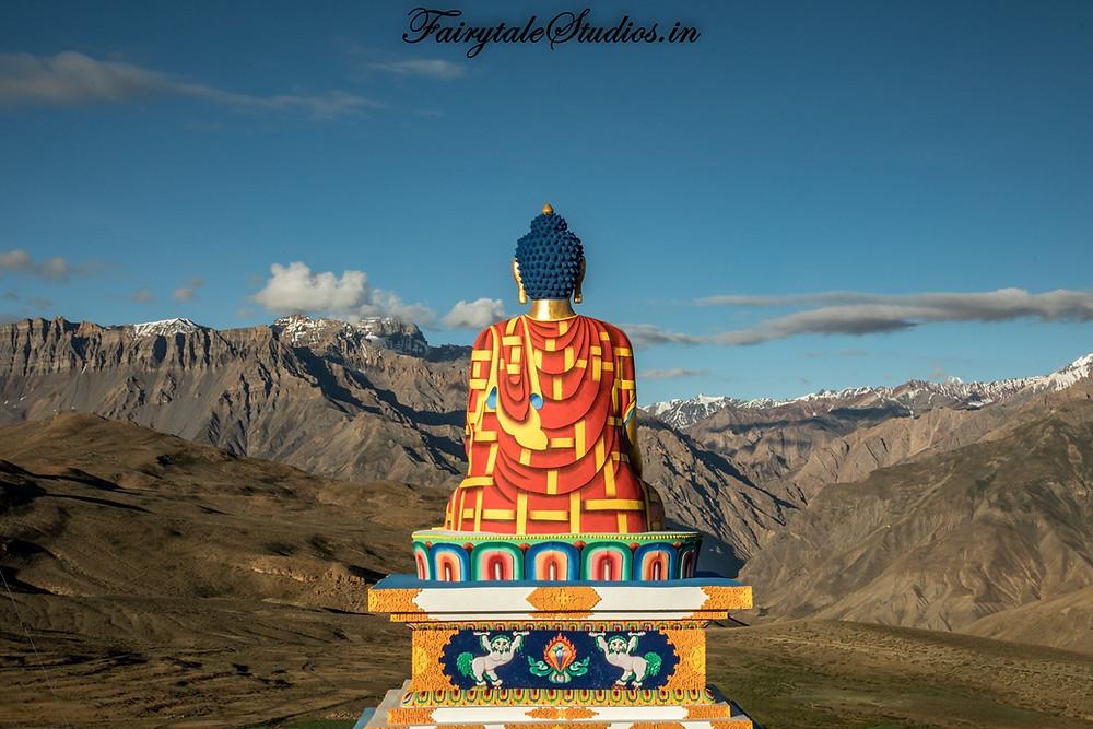Buddha statue, Langza village - Spiti Valley, India