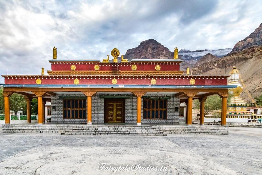 The new Tabo monastery, Tabo - Spiti Valley, Himachal Pradesh
