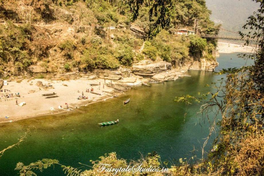 First Glimpse of Dawki_Umngot river_Meghalaya Odyssey_Fairytale Photo blogs (3)