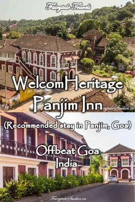 WelcomHeritage Panjim Inn, Goa - India