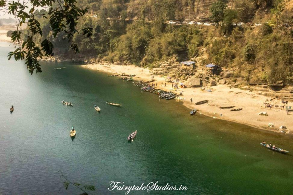 First Glimpse of Dawki_Umngot river_Meghalaya Odyssey_Fairytale Photo blogs (4)