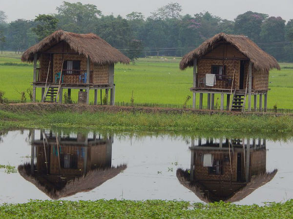 Fishermen huts in Majuli Island - India_Unique Islands to visit in India