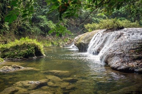 whisper waves waterfall in Little Andaman_The Andaman Odyssey_Fairytale travels