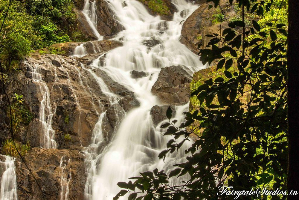 Tambdi Surla Waterfalls in Bhagawan mahaveer wildlife sanctuary in Goa, India