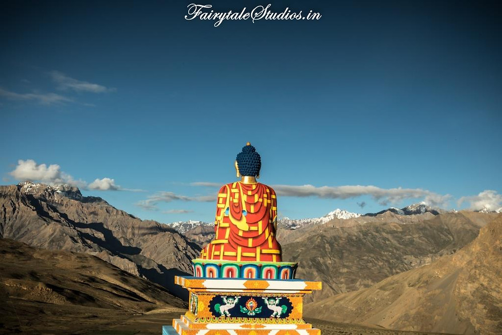 Buddha statue in Langza village, Spiti Valley_Plan your trip to Spiti Valley