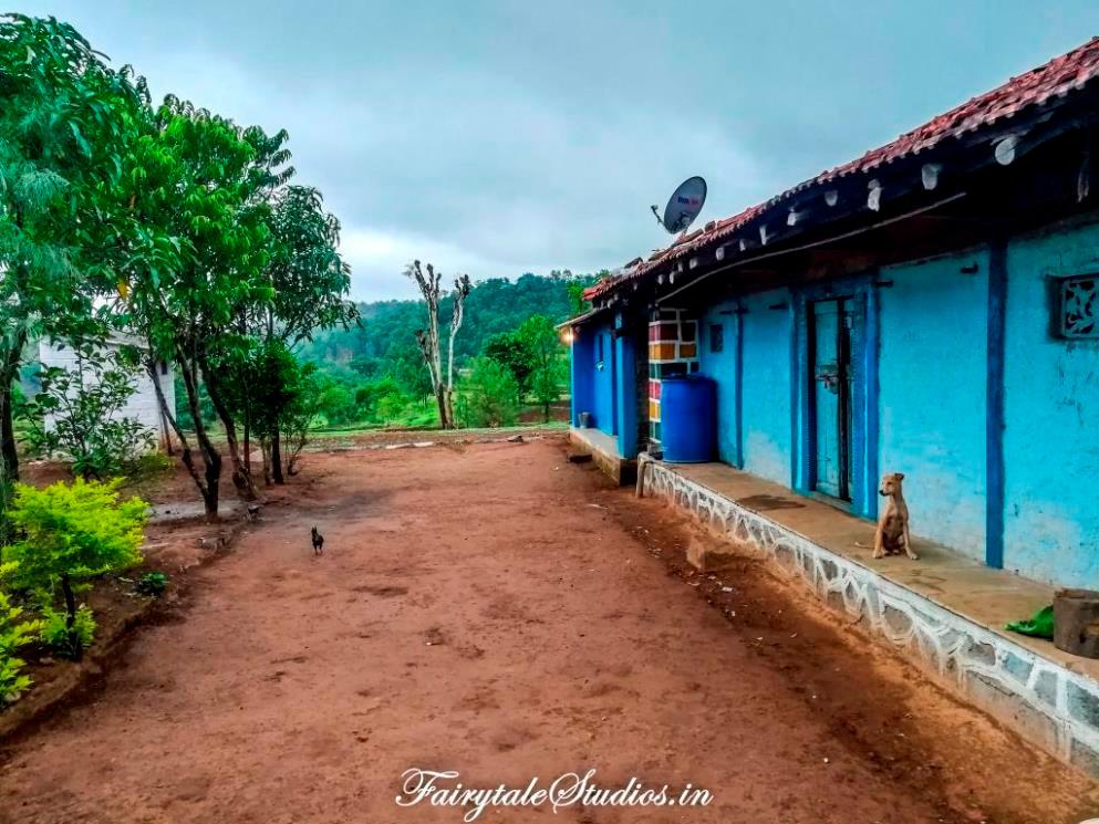 A beautiful house in Purushwadi village, Maharashtra - India