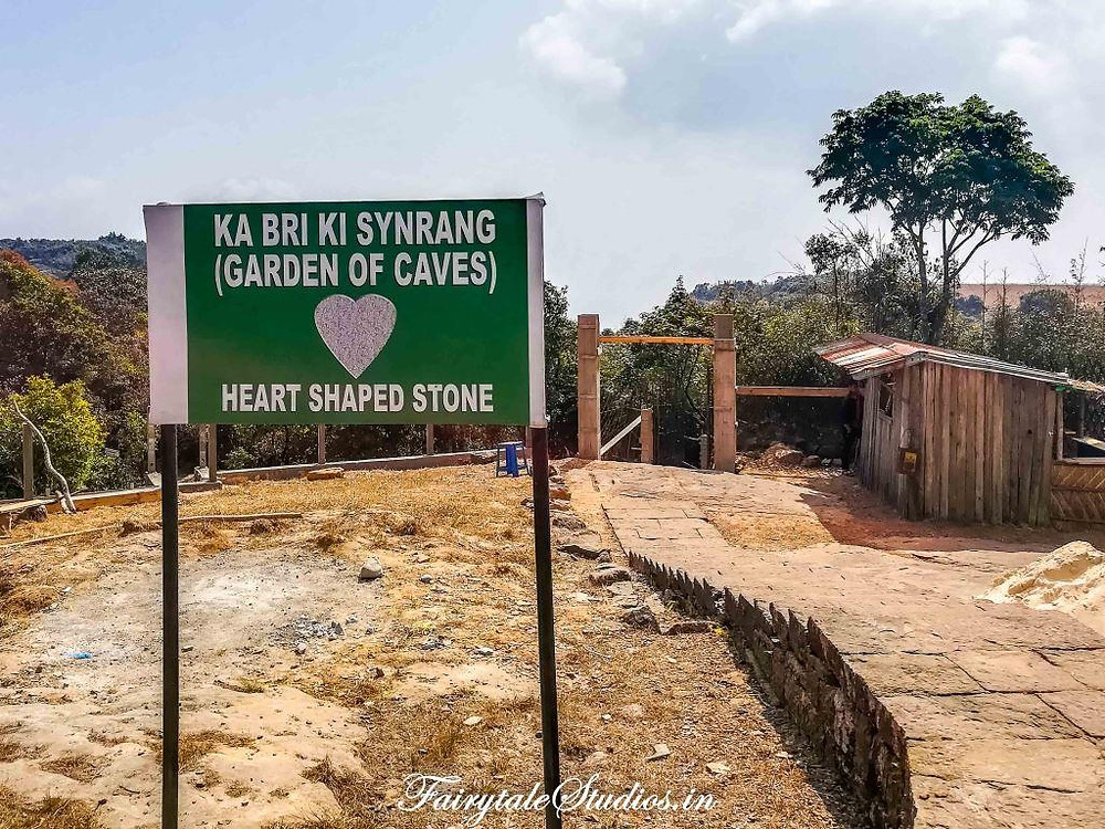 Entrance of Garden of Caves in Cherrapunji