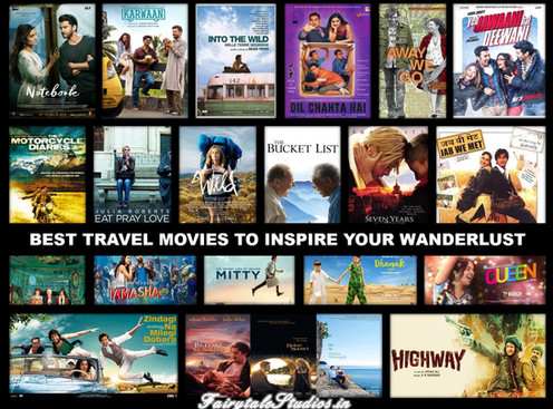 Best travel movies to inspire your wanderlust