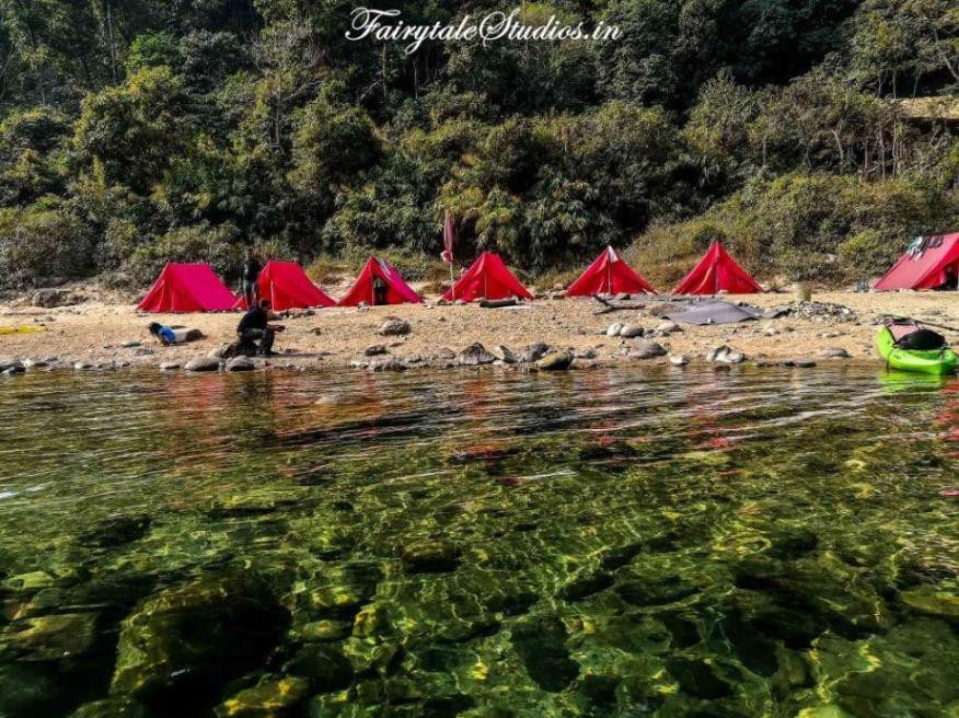 Pioneer Adventure campsite at Shnongpdeng