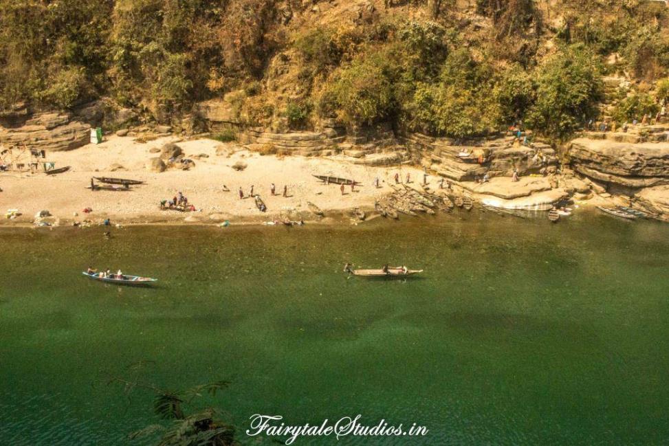 First Glimpse of Dawki_Umngot river_Meghalaya Odyssey_Fairytale Photo blogs (1)