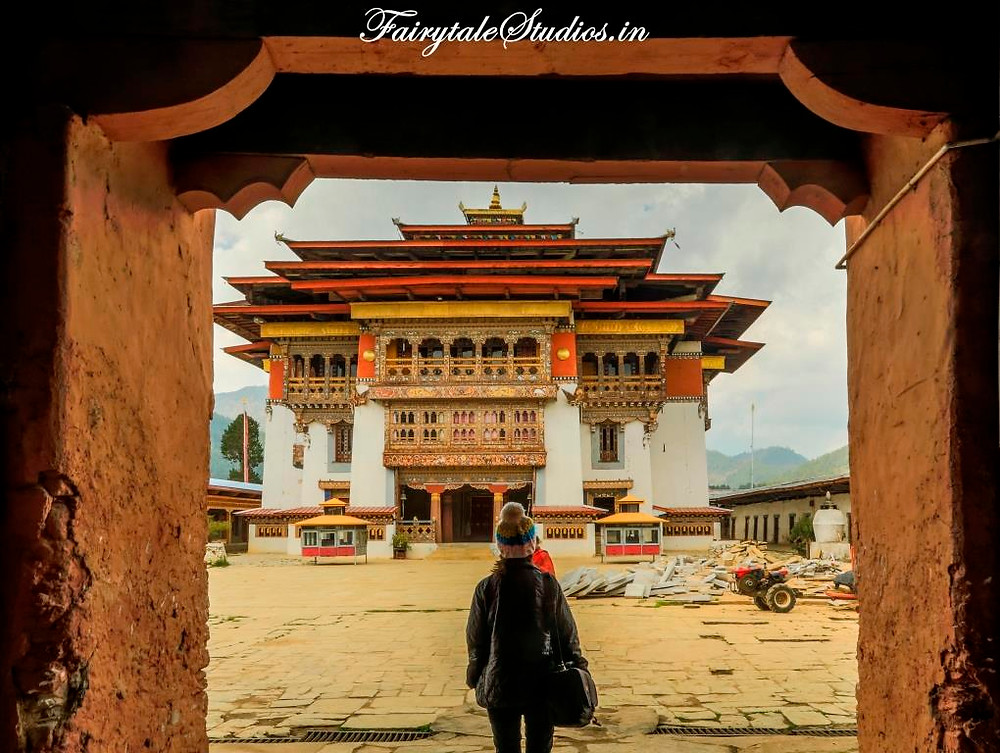Gangtey Monastery, Phobjikha or Gangtey Valley, Bhutan