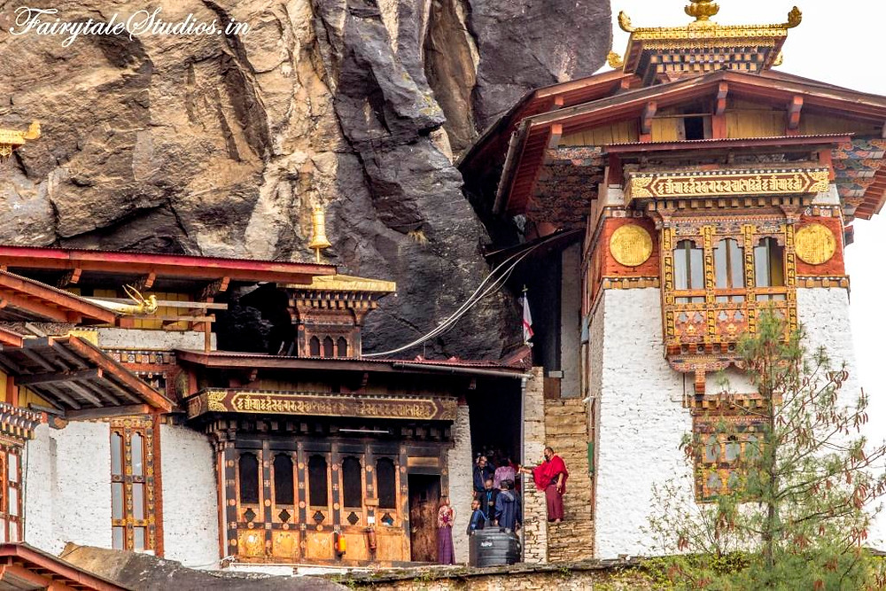 Taktsang monastery (Tigers Nest) in Paro, Bhutan