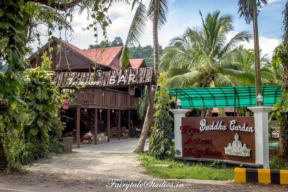 Charcoal restaurant at Symphony Palms beach resort, Havelock