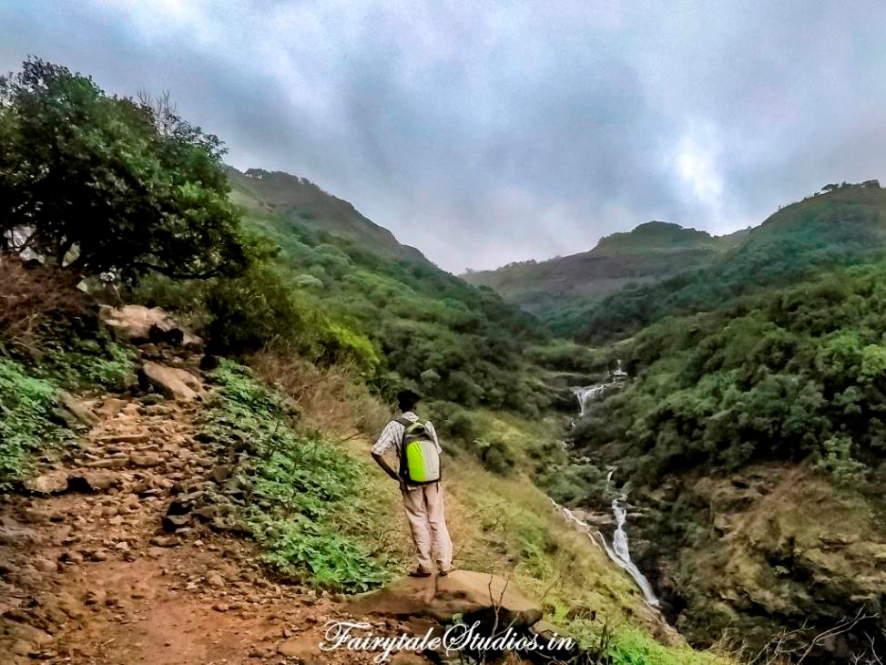 On our way to Harishchandragad Fort, Maharashtra.