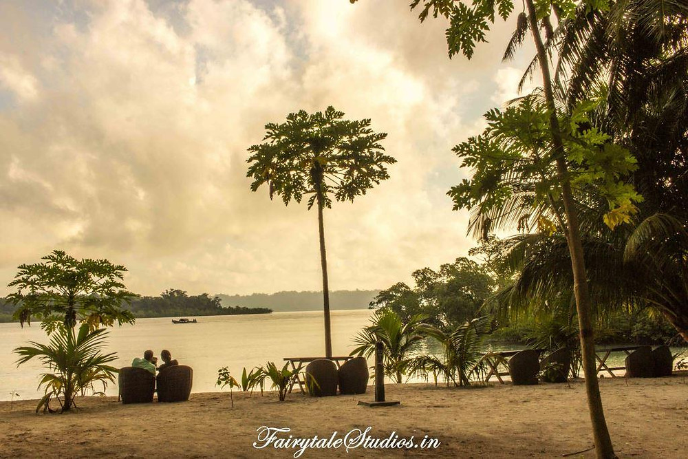 Lovely romantic views from Havelock Island Beach Resort, Havelock, Andamans