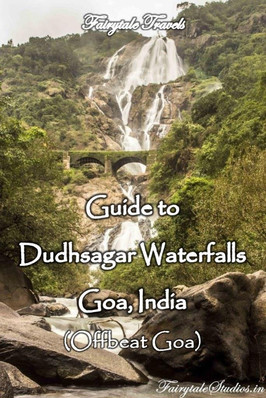 Dudhsagar waterfalls, Goa - India