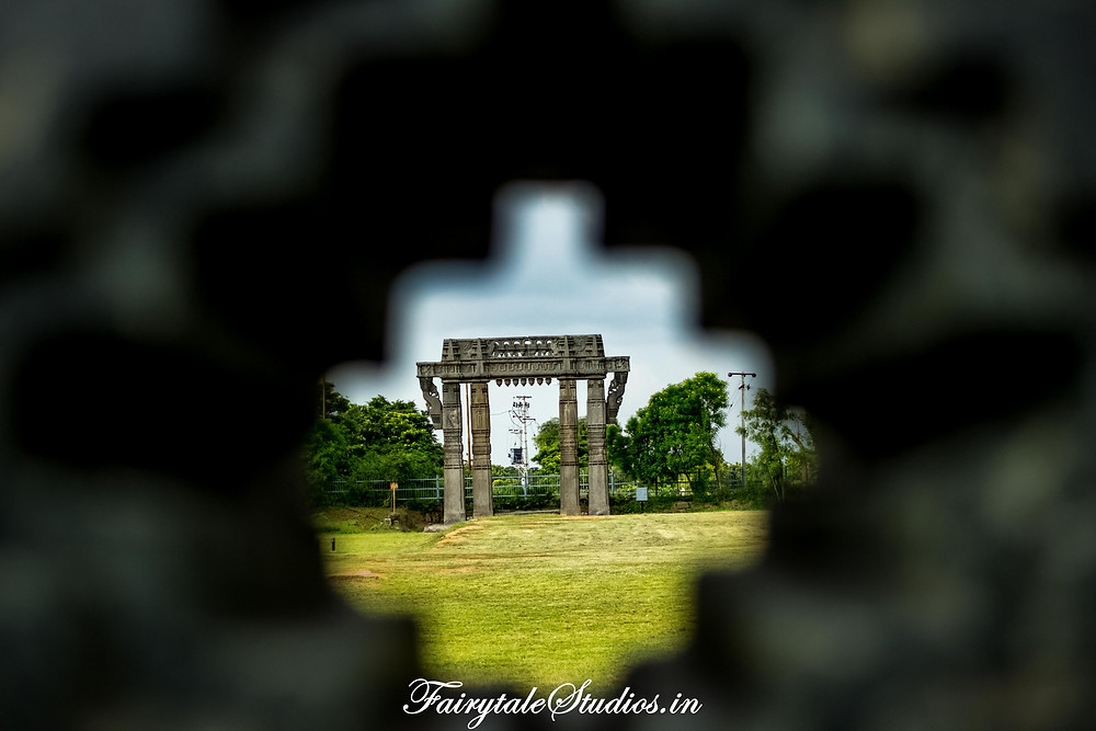 Iconic gate at warangal fort