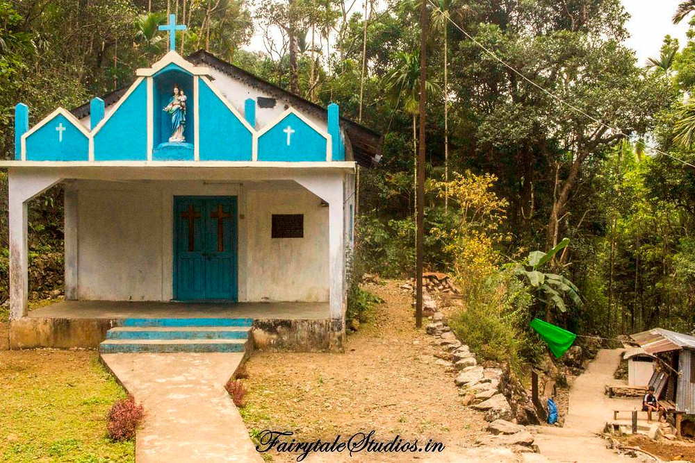 Christianity is the major religion followed in Meghalaya