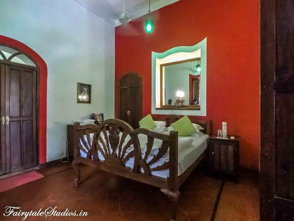 Alipore room at Vivenda Dos Palhacos