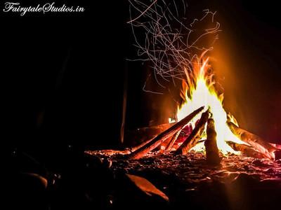 28. Bonfire at Pioneer Adventures_Shnongpdeng_The Meghalaya Odyssey_Fairytale Travels