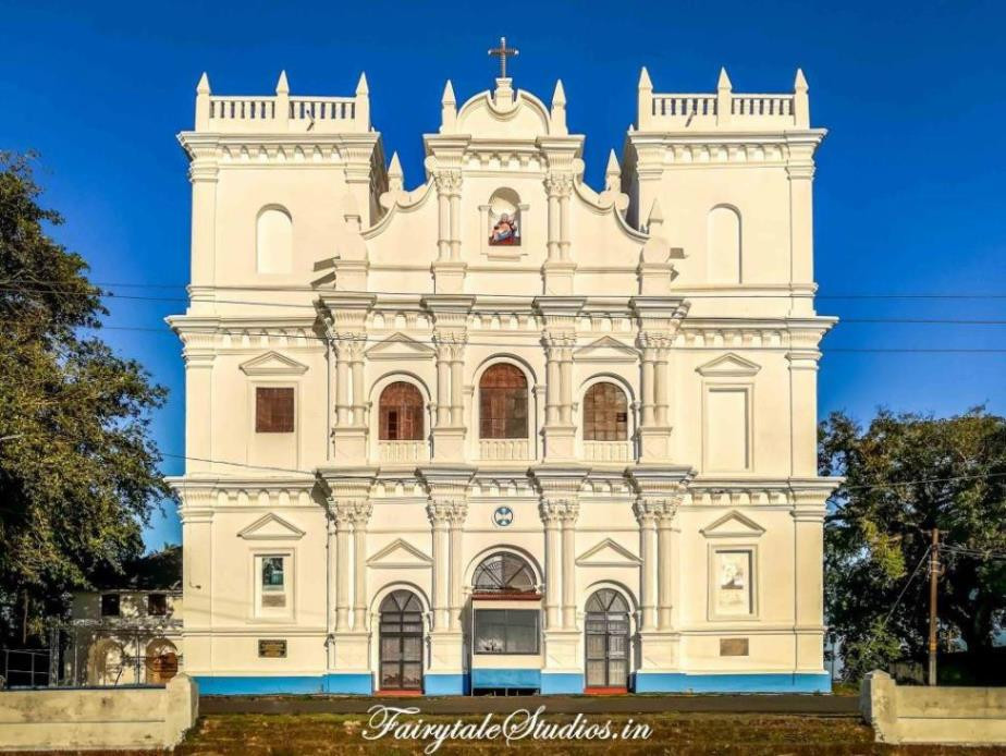 Church in Diu Island, Goa - India_Unique islands to visit in India