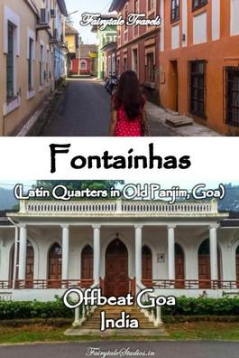 Fontainhas, Old Panjim - Goa - India