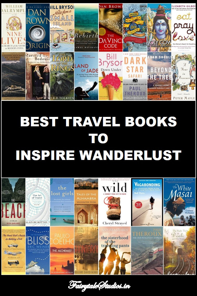 Best Travel Books to inspire your wanderlust