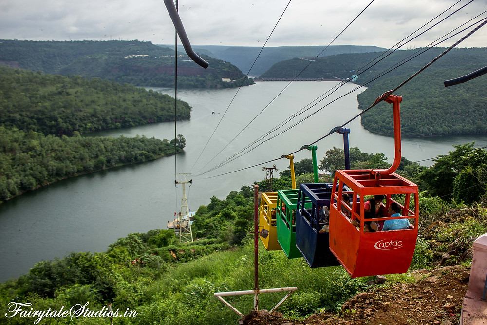 APTDC Ropeways to go downhill to boating points