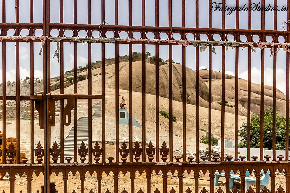 Entrance gate of Bhongir fort