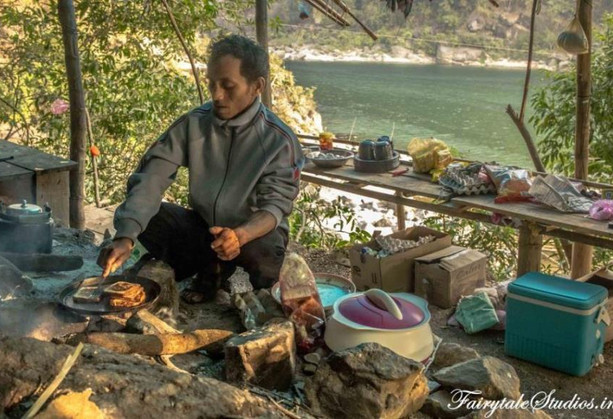 32. Chef at Pioneer Adventures_Shnongpdeng_The Meghalaya Odyssey_Fairytale Travels