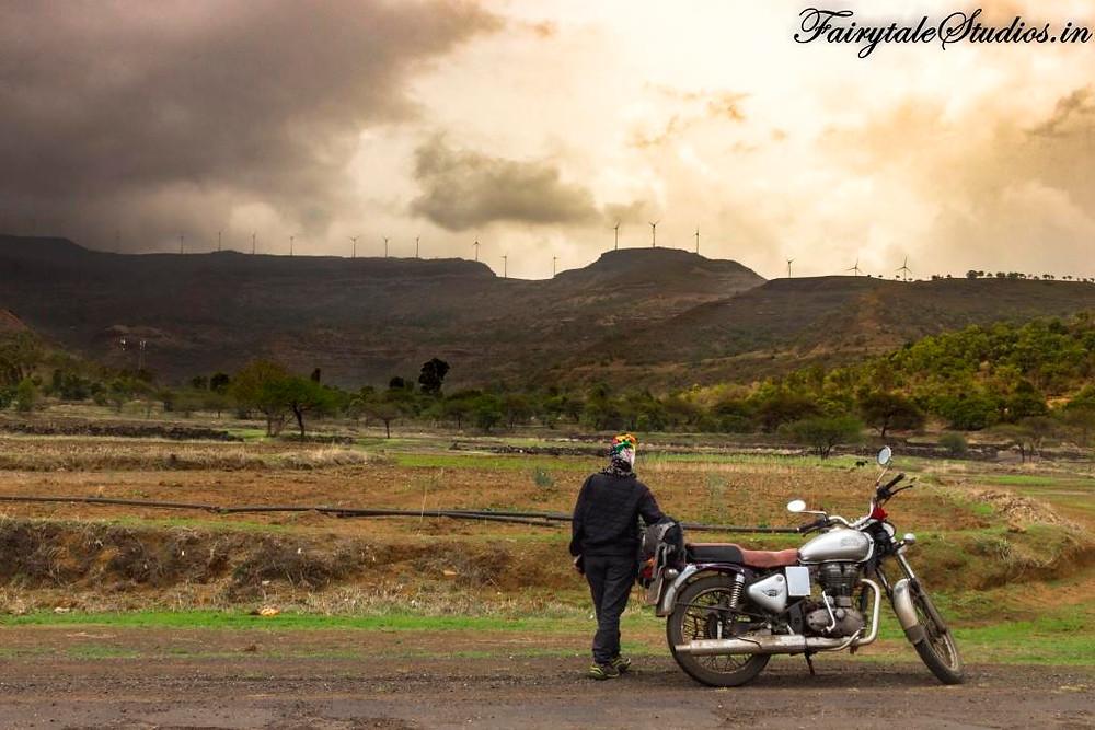 On our way to Purushwadi village, Maharashtra, India