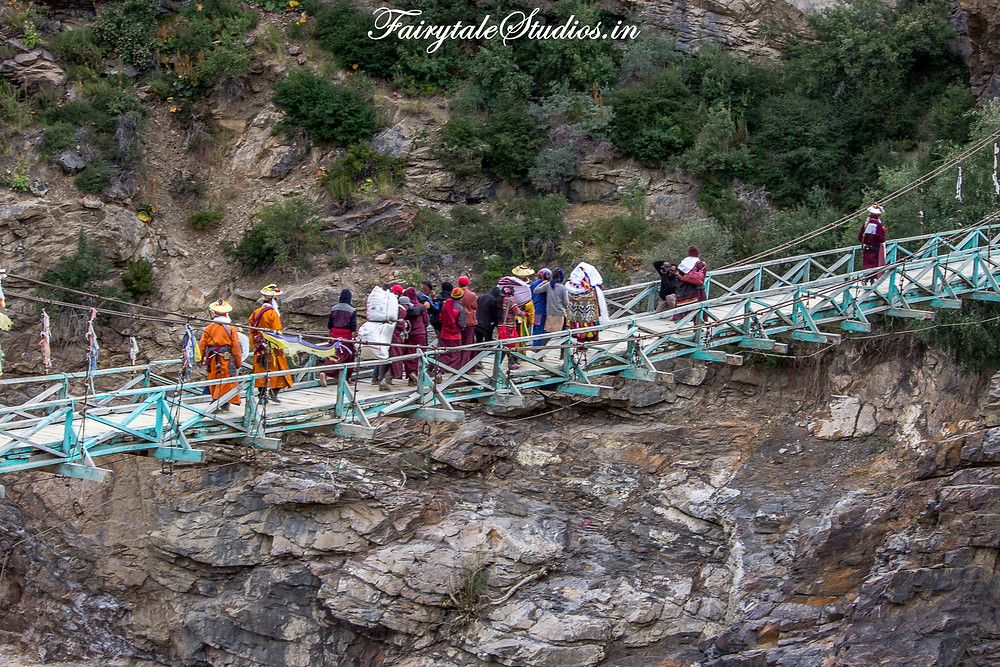 Groom's friends and family taking bride away (The Zanskar Odyssey Travelogue)