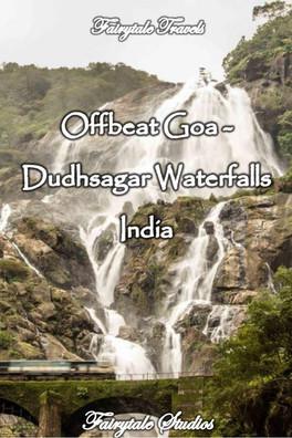 Dudhsagar waterfalls, Goa - India