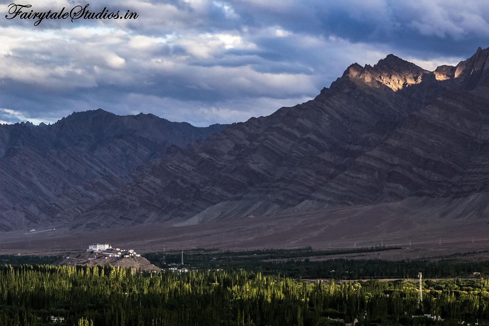 Stakna monastery seen from Thinksey (The Zanskar Odyssey)