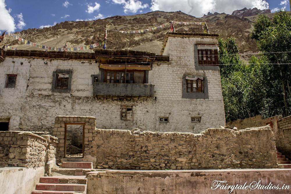 Zangla Palace from outside  (The Zanskar Odyssey Travelogue)