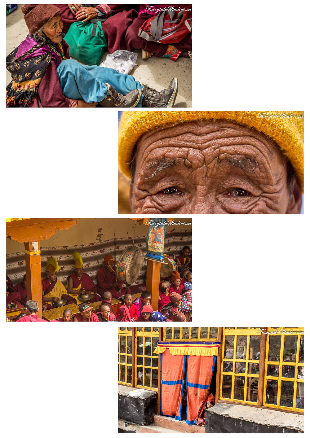 People eagerly waiting for Stongdey festival to begin (The Zanskar Odyssey Travelogue)