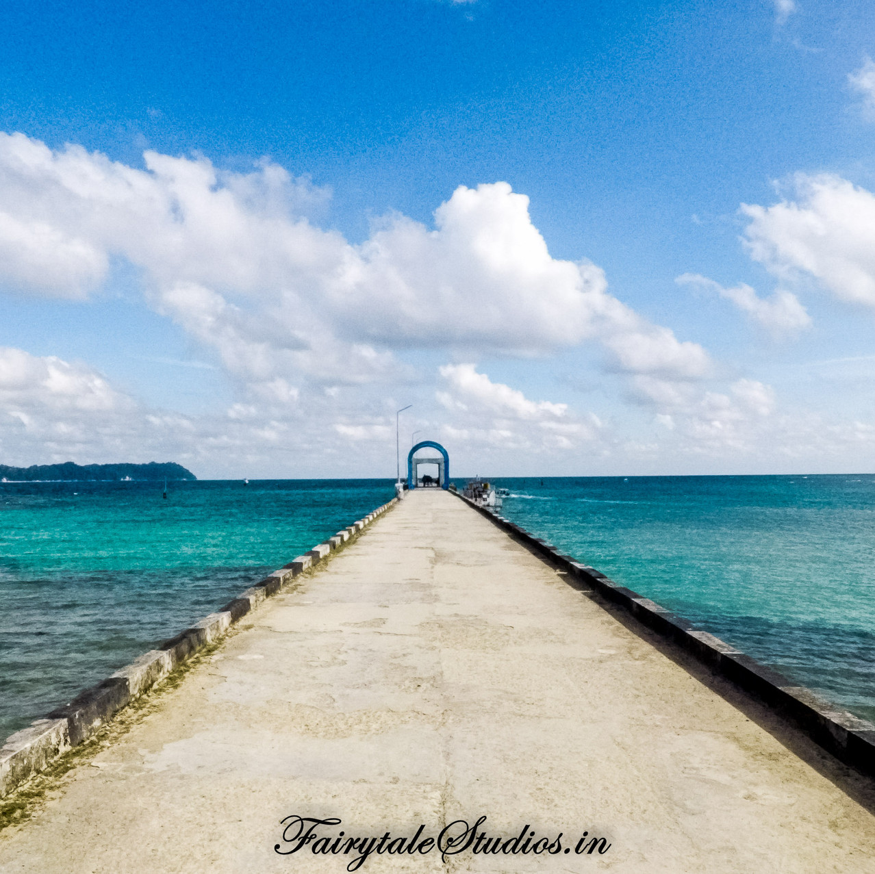 Jetty at Neil Islands_Andamans